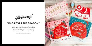 Win a signed copy of Who Loves the Dragon? and Don't Wake the Dragon, a Sugarfina Candy Bento Box, and a $50 Target gift card!