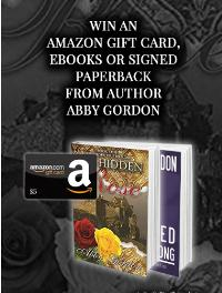 Win a Signed Paperback, eBook or Amazon Giftcard from Author Abby Gordon!