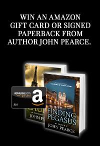 Win a Signed Paperback or Amazon Giftcard from Award-winning, Bestselling Author John Pearce!