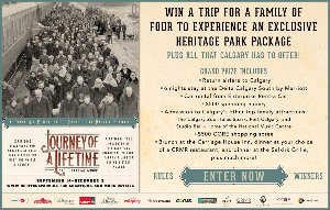Win a six night trip for a family of 4 to Calgary