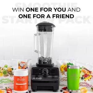 Win a SmoothieBox Starter Pack For You and a Friend