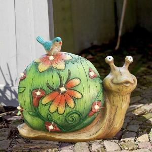 Win a Solar Power Snail Lawn Decor or  $30 in Amazon or PayPal !