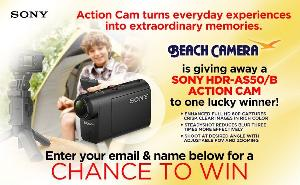 Win a Sony Action Camera