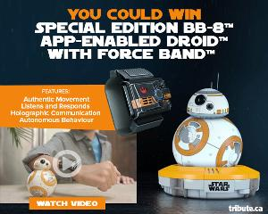 WIN: a Special Edition BB-8 App-Enabled Droid with Force Band!