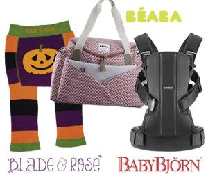 Win a spooktacular hamper with BabyBjӧrn, Béaba and Blade & Rose!!