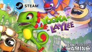 Win a Steam Download Code for Yooka Laylee!