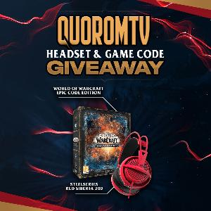 Win a SteelSeries Red Siberia 200 & World of Warcraft Shadowlands Epic Edition (EU Code)!!