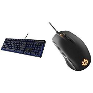 Win a SteelSeries Rival 300 Mouse & SteelSeries Apex M500 Keyboard