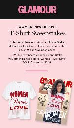 "Win A Stella McCartney ""Women Power Love"" T-Shirt"