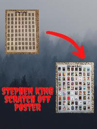 Win a STEPHEN KING SCRATCH OFF POSTER!