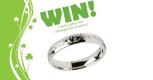 Win a Sterling Silver Claddagh Celtic Knot Ring