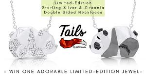 Win a Sterling Silver Panda Necklace