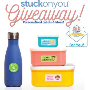 Win a Stuck On You $50 Gift Card