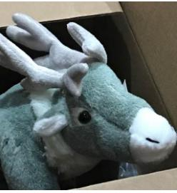Win A Stuffed White Elk Named Ghost!!