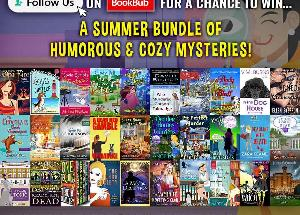 WIN A SUMMER BUNDLE OF HUMOROUS & COZY MYSTERIES + AN EREADER!