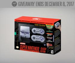 Win a Super Nintendo SNES Classic Edition