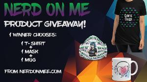 Win a T-Shirt, Face Mask, and Mug!