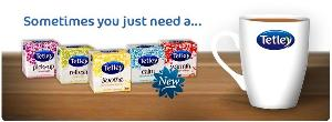 Win a Tetley prize pack