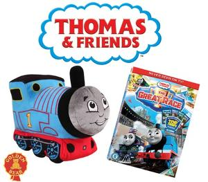 Win a Thomas and Friends Glowing Musical Thomas and The Great Race DVD!!