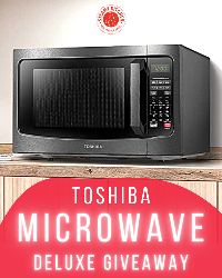 Win a Toshiba Microwave Giveaway! (Value at $127.99)!