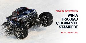 Win a Traxxas Stampede 4x4 VXL RTR