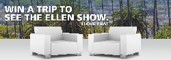 Win a Trip and Tickets to the Ellen Show