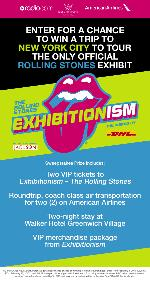 WIN: a trip for 2 to New York City to tour the only official Rolling Stones Exhibit