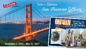 WIN: a trip for four to San Francisco or Oakland