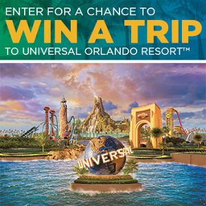 Win a Trip for Four to Universal Studios Florida