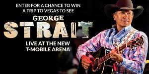 Win a Trip for Two to Las Vegas, to see George Strait Live