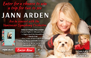 Win a Trip for two to see Jann Arden