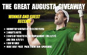 WIN: a Trip for Two to the Augusta Golf Tournament