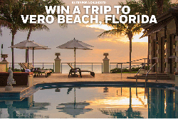 WIN: a Trip for Two to Vero Beach, Florida