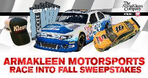Win a trip to a Motorsports Event including $2,500 in Travel Expenses