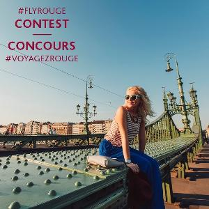 Win a Trip to anywhere Air Canada Rouge flies