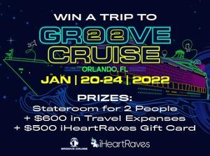 Win a trip to Groove Cruise Miami