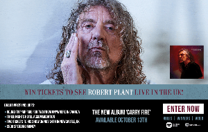 Win a Trip to see Robert Plant live in the UK!