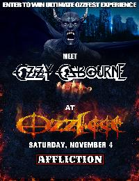 Win a Trip with tickets to OZZFEST