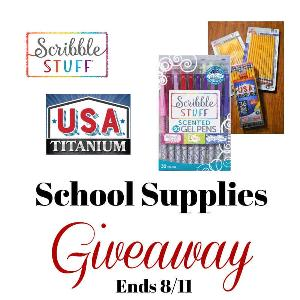 Win a variety of school supplies - pens and pencils!!