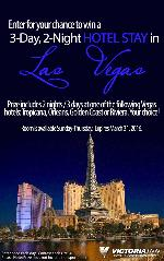 Win A Vegas Hotel Stay