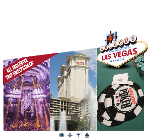 Win a Vegas VIP Weekend