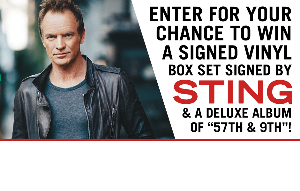WIN: A Vinyl Box Set Signed by Sting!""