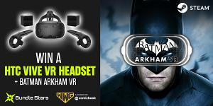 Win a VIVE VR headset and Batman: Arkham VR