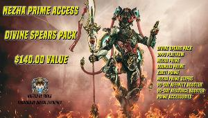 Win a Warframe - Nezha Prime Access Divine Spears Pack!
