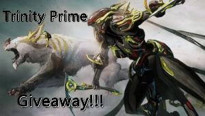 Win a Warframe - Trinity Prime Set on PS4