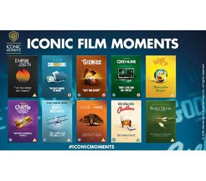 Win a Warner Bros. 'Iconic Moments' collection!!!