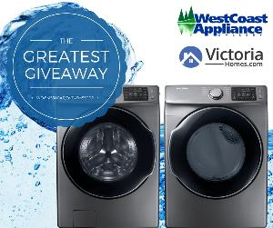 Win a Washer and Dryer Set