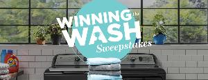 Win a Washer and Gas/Electric Dryer Package and $1,000 cash