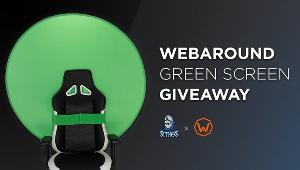 "Win a WebaroundGaming ""THE BIG SHOT"" Green Screen"