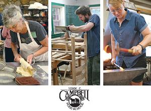 WIN: a week-long class for 2 at the John C. Campbell Folk School